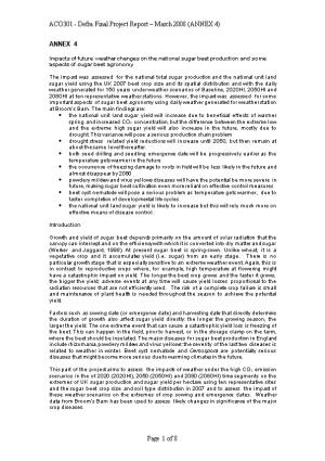ACO301 - Defra Final Project Report March 2008 (ANNEX 4)