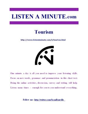Listen a Minute.Com - ESL Listening - Tourism